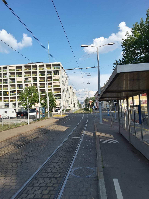 werdinsel - tram