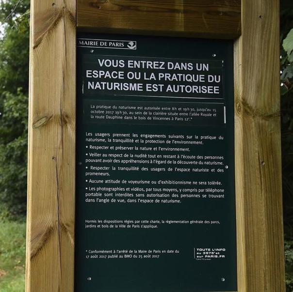 Espace_Naturiste_du_Bois_de_Vincennes - panneau